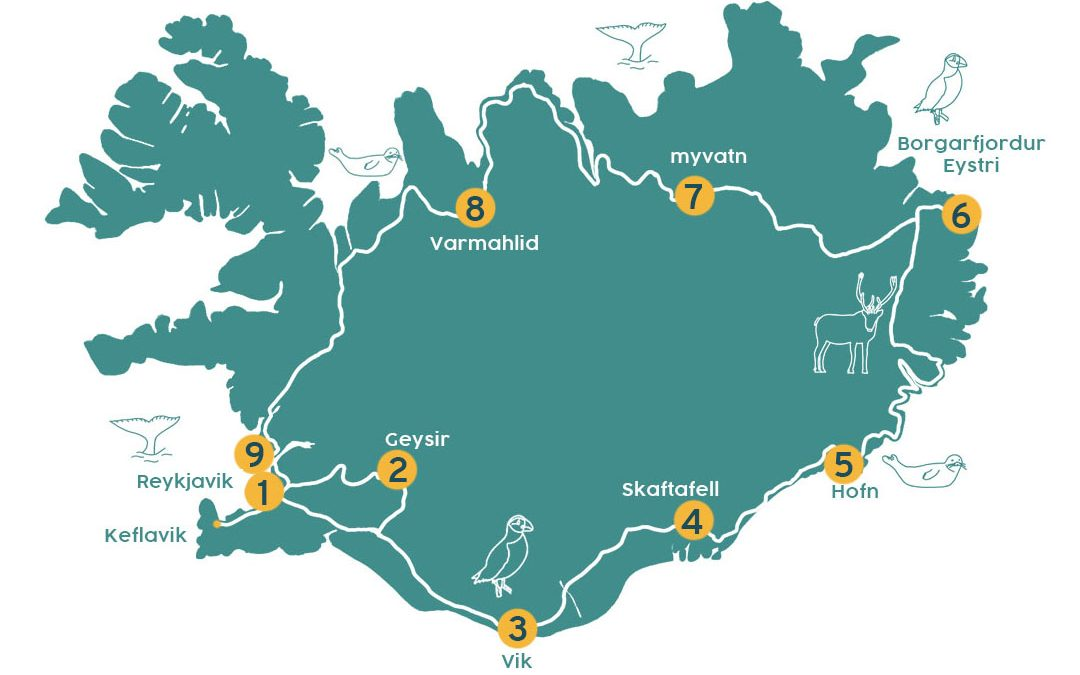 Ultieme rondreis door IJsland in 14 dagen