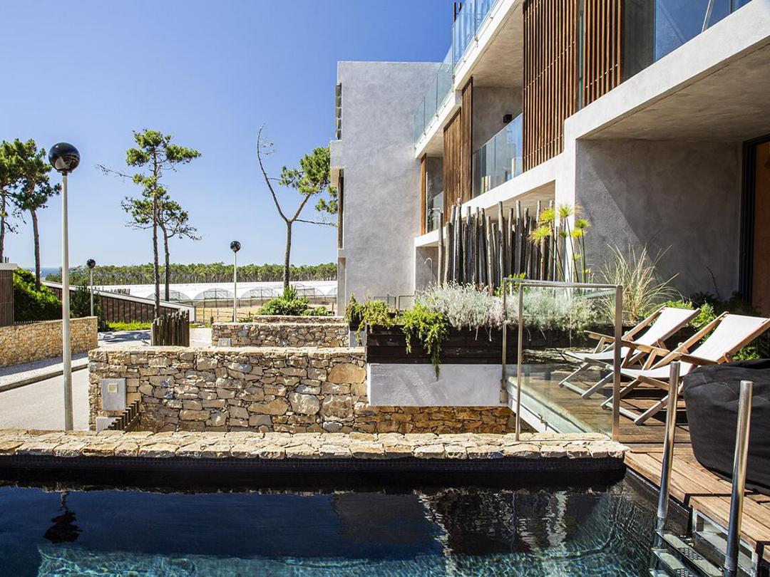 Areias do Seixo villas in Portugal